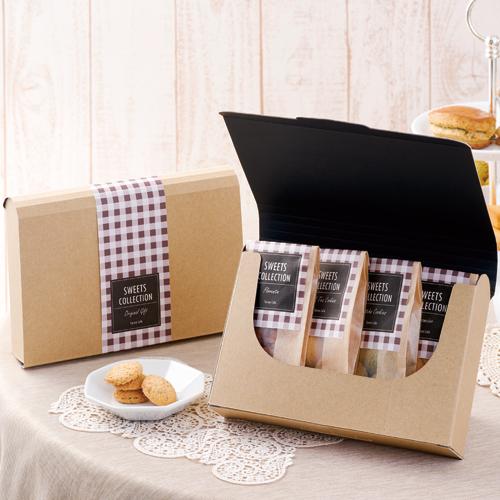 焼き菓子 ブック型カートン パッケージ