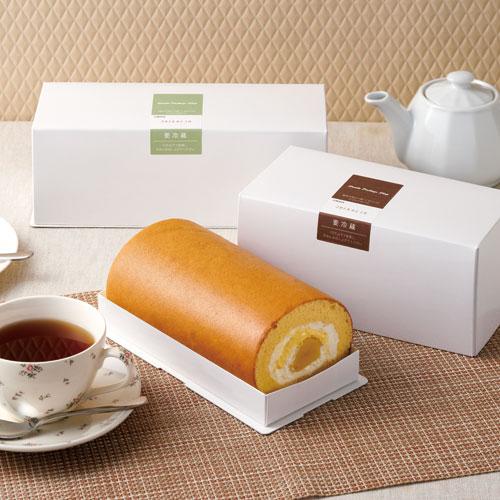 シンプルな洋菓子のパッケージ