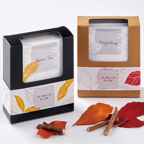 洋風な紅茶・ハーブティの秋ギフト