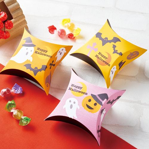 カジュアルな洋菓子のハロウィンラッピング