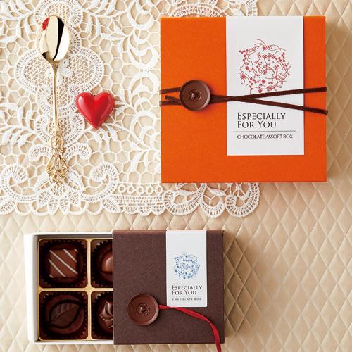 シンプルな洋菓子のバレンタイン
