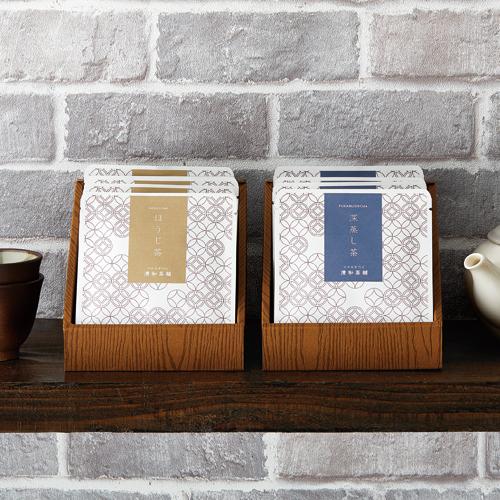 日本茶 煎茶 個包装 販売台 パッケージ