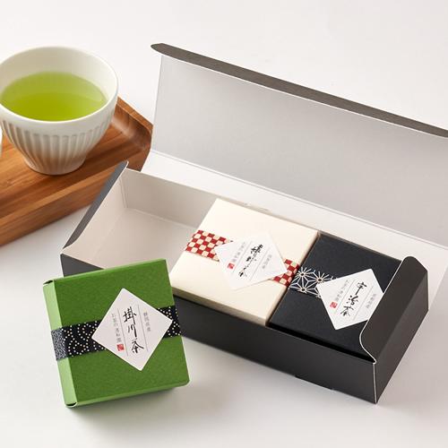 日本茶 緑茶 和風パッケージ プチギフト