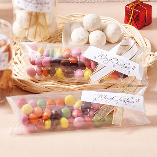 かわいいな洋菓子のクリスマスラッピング