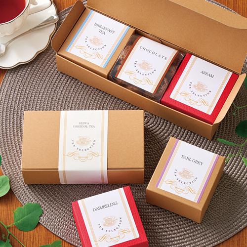 洋風な紅茶菓子セットのギフト