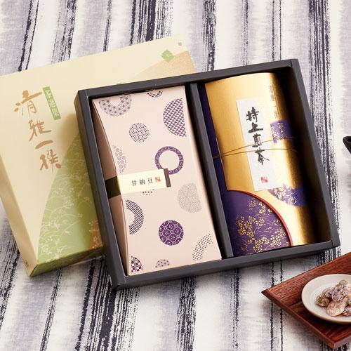 和風なお茶と菓子セットのギフト