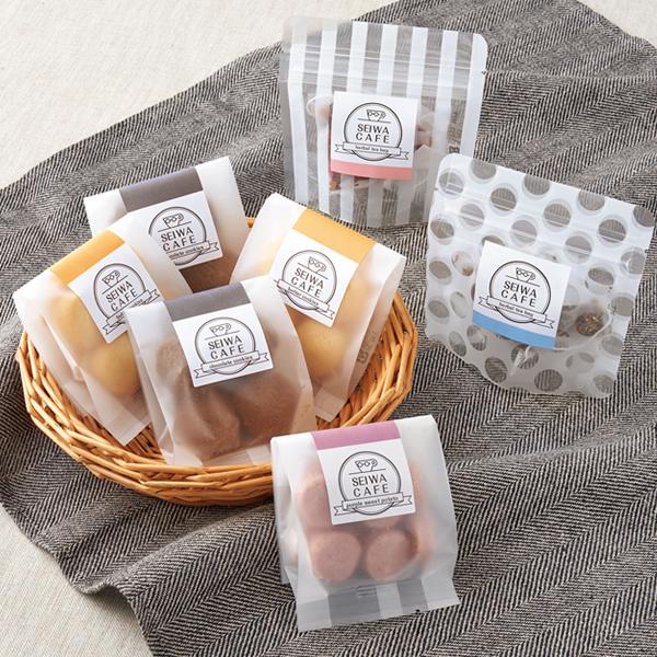 かわいいな紅茶菓子セットのパッケージ