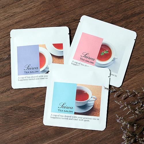 シンプルな紅茶・ハーブティのパッケージ