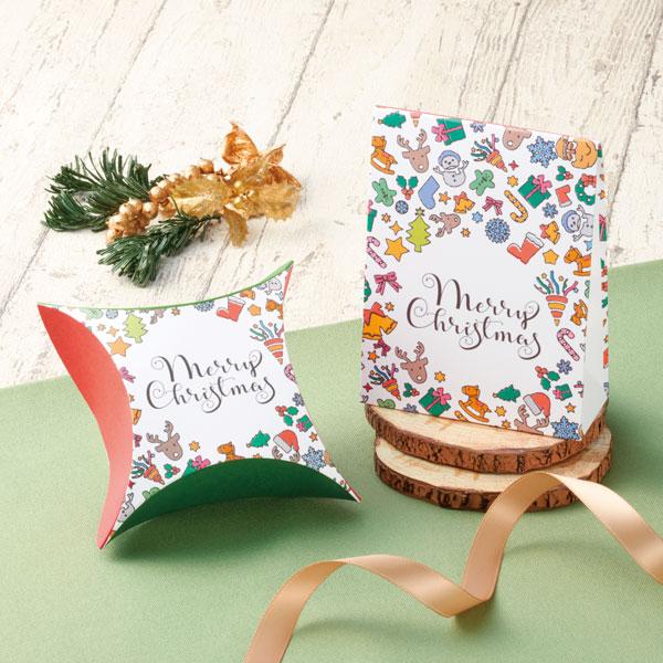 かわいいな食品以外のクリスマスラッピング