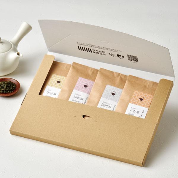 和風なお茶の通販用梱包