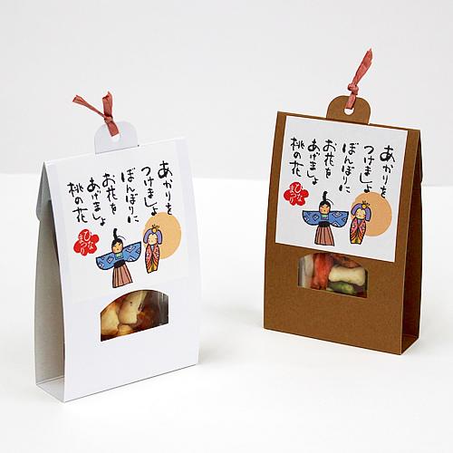 カジュアルな和菓子のひなまつりギフト