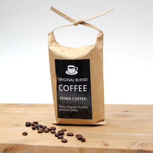 コーヒー袋 紙バンド付ポリクラフト