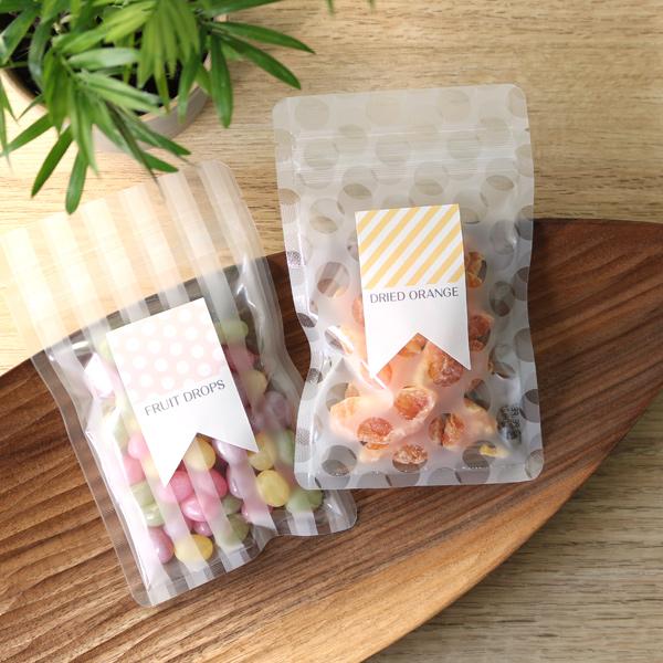 かわいいな洋菓子のパッケージ