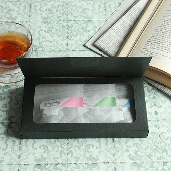 シンプル紅茶・ハーブティのパッケージ
