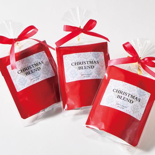 洋風な紅茶・ハーブティのクリスマスラッピング