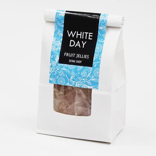 シンプルな洋菓子のホワイトデー